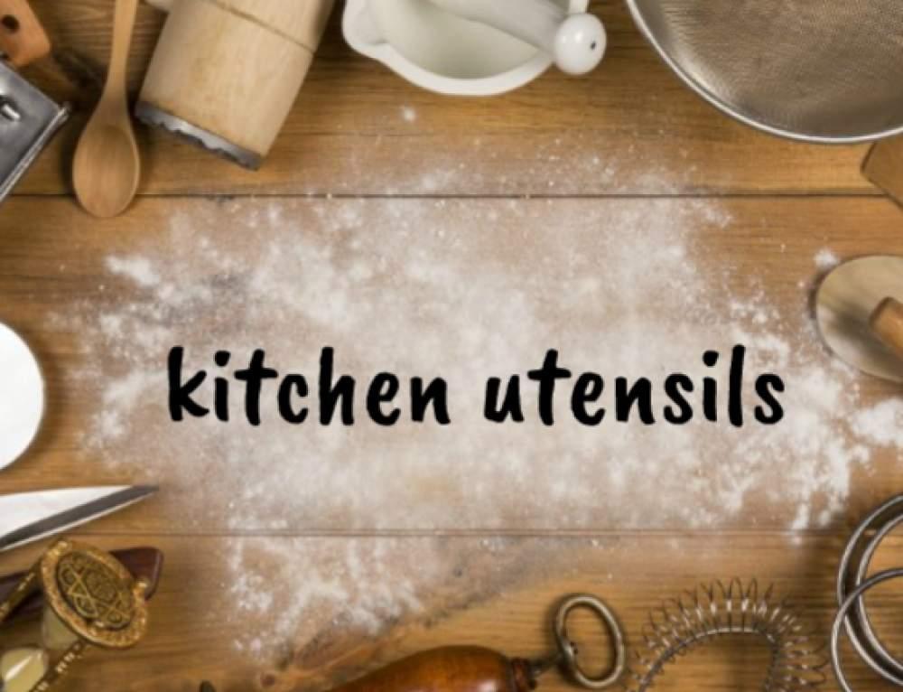 Kitchen utensils – konyhai eszközök